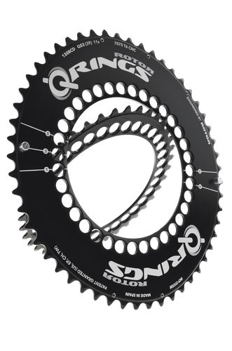 Rotor Q-Ring Road Aero Chainring 110