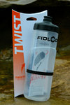 Fidlock Twist bottle 600ml + bike base magnet mechanical bottle mounting incl. bottle clear